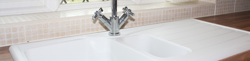 Bathroom & kitchen sink installation